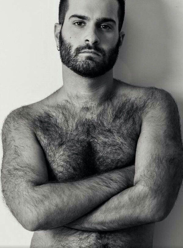 The hairy man