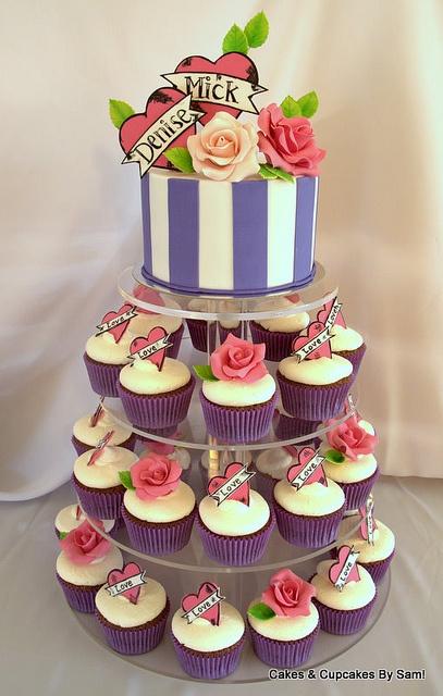Engagement Cake by Sam_Dobbyn, via Flickr