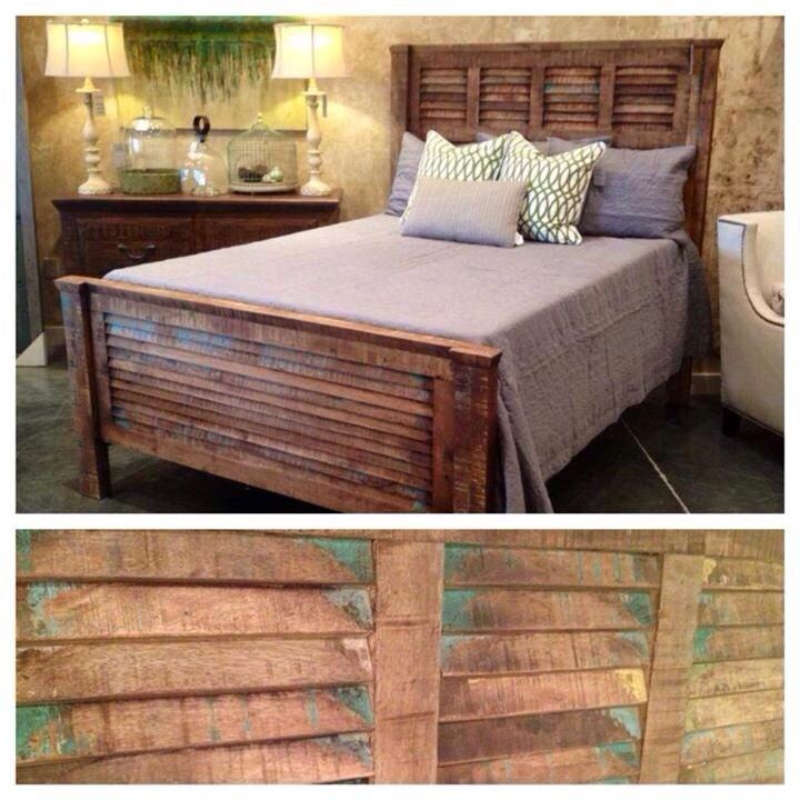 J. Allanu0027s Reclaimed Wood Bed. (Out Of MS)