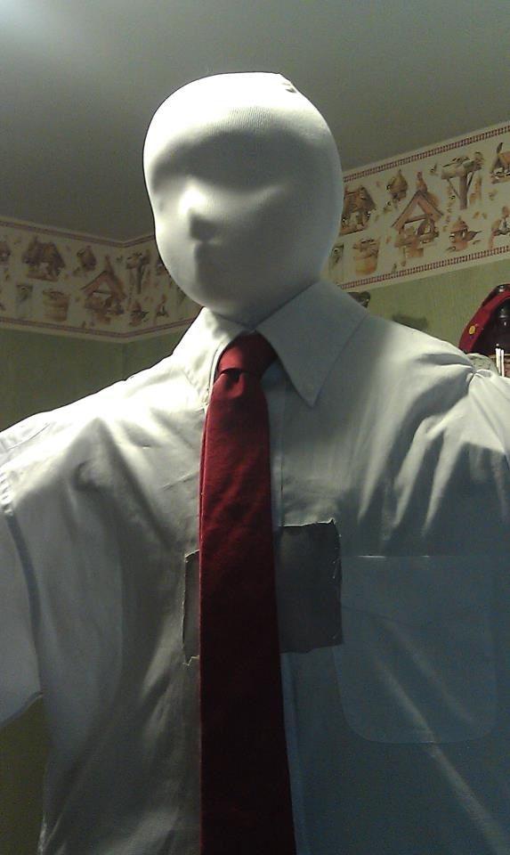 Slenderman costume i made