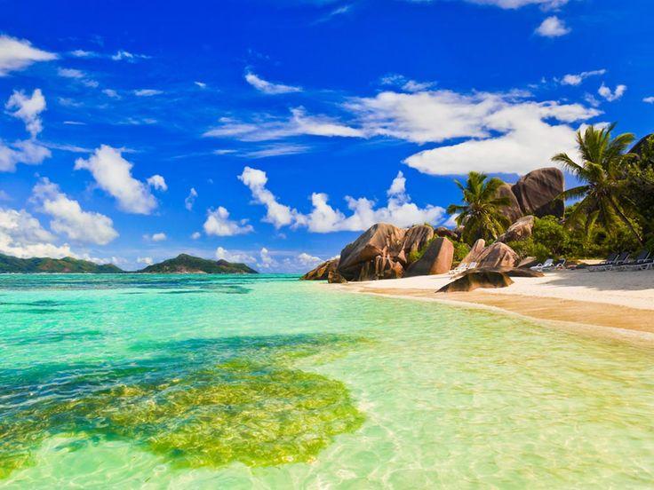 Source d'argent – l'une des plages les plus célèbres des Seychelles.