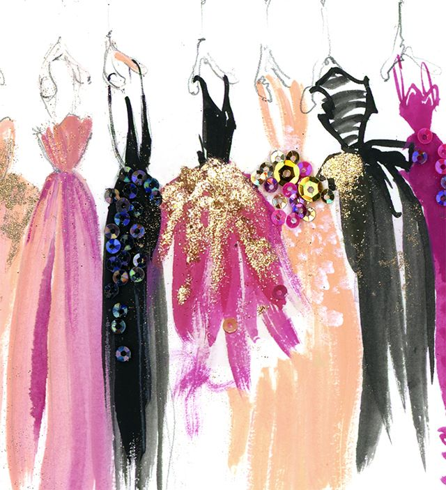 its a girl thing 31 photos dress illustrationillustration fashionfashion illustrationsdesign