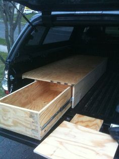 17 best ideas about truck bed storage on pinterest truck bed build a dodge and drawer rails - Homemade truck bed drawers ...