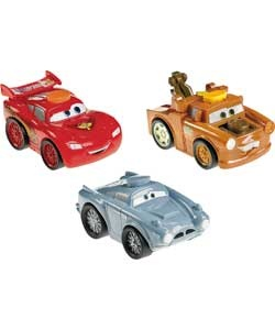 Kids will delight in these Cars 2 character lights with sounds and phrases straight from the movie. Push the button to open the bonnet and reveal fun lights and sound effects. £9.99 from Argos