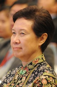 Ho Ching, CEO Temasek Holdings+the spouse of the current Prime Minister of Singapore ;-) http://en.wikipedia.org/wiki/Ho_Ching