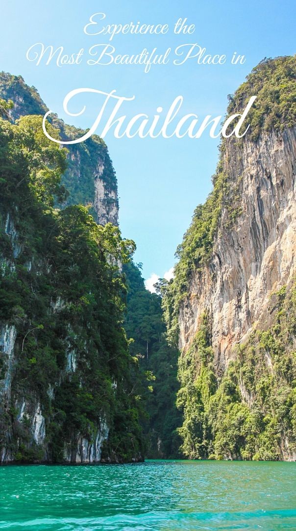 Khao Sok national park: the most beautiful place in Thailand. How to get there and what to do?