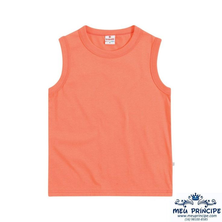 Camiseta  Machão Infantil Brandili - Diversas Cores
