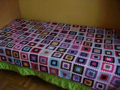 No se desanimen a continuación les traigo unos patrones de colchas tejidas a crochet para bebé, estas también puedes hacerlas más grandes o chicas.