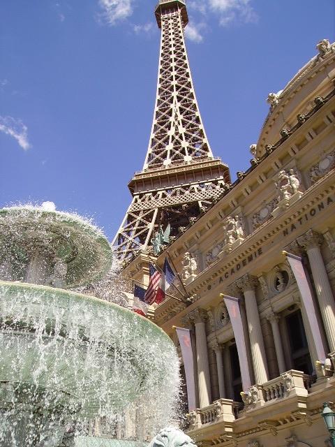 Paris casino in Las Vegas. Annette V. <3