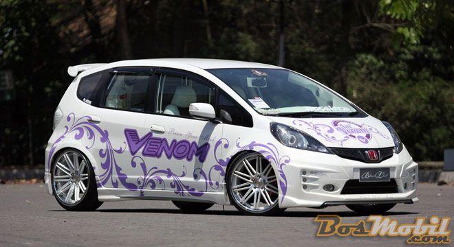 Modif Honda Jazz SQL : Konsep Show-Off Raih Beragam Piala #info #BosMobil