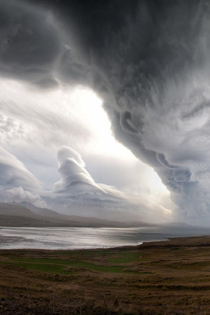 The magic of clouds. They can stir the spirit