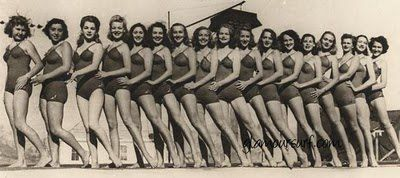 50's synchronized swimming