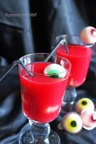 Draculas Blut mit Augäpfeln - der Graf wäre stolz auf dieses leckere Halloween Getränk.