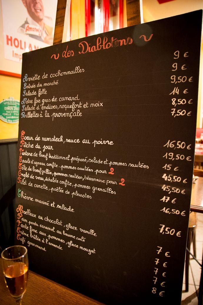 Une Geekette En Cuisine - Les Diablotins, restaurant bistro à Suresnes 92
