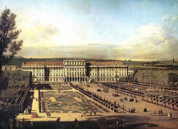 Bellotto, Schonbrunn, 1758-1761