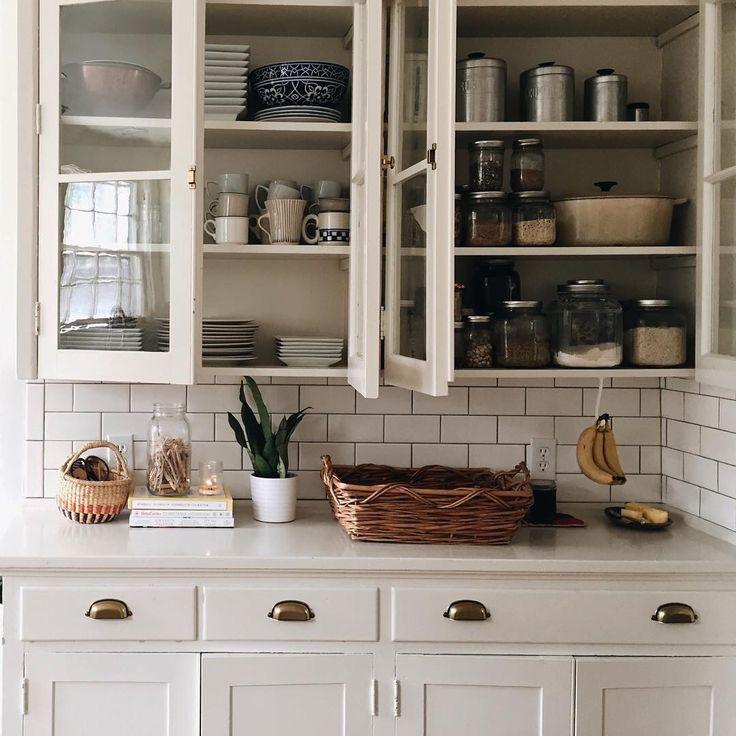 Las 25 mejores ideas sobre gabinetes de cocina blancos en for Gabinetes de cocina blancos