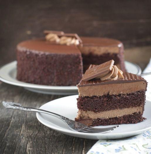Recette - Gâteau au chocolat avec fondant très chocolat | Notée 4/5