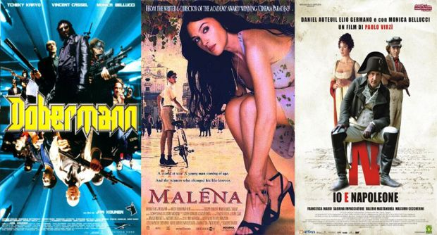 It's movie mrathon day! I dedicate it to the wonderful Monica Bellucci! #movies #monicabellucci #films #malena