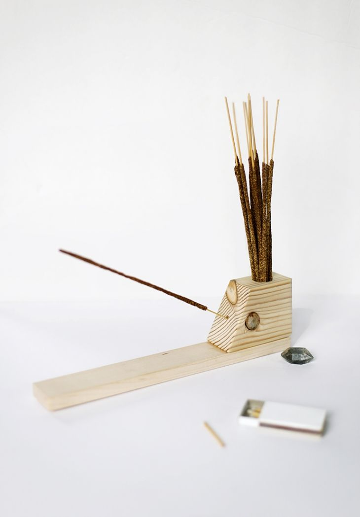 DIY Incense Holder @themerrythought                                                                                                                                                                                 More
