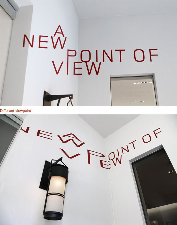 Awesome Optical Illusions Using Typography | memolition