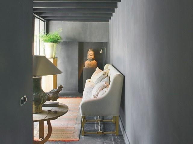 Les 25 meilleures id es concernant enduit chaux interieur - Peinture effet crepi interieur ...