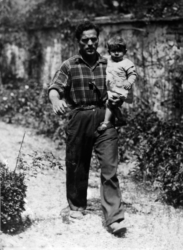 Marcel Cerdan avec son fil Marcel Jr. | SPORTS | Pinterest ...
