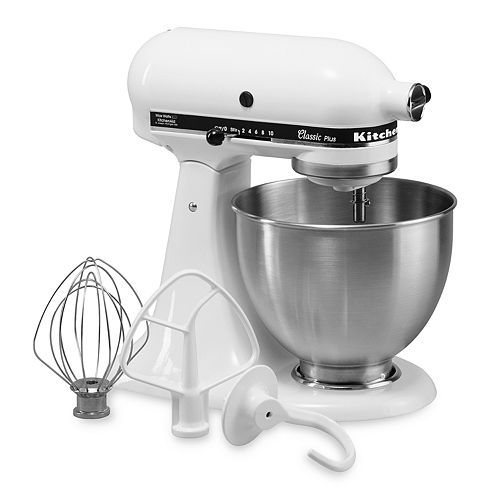 KitchenAid KSM75 Classic Plus 4.5-qt. Stand Mixer  -  My Dream Mixer...finally mine as a birthday gift from my hubby!  I have wanted one of these forever!!!! Great deal at Kohls.com with 20% off and a mail in rebate....happy me!