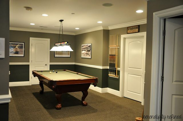 basement farm house best paint color to go with dark wood trim