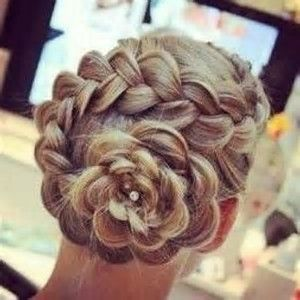 Image result for flower bun