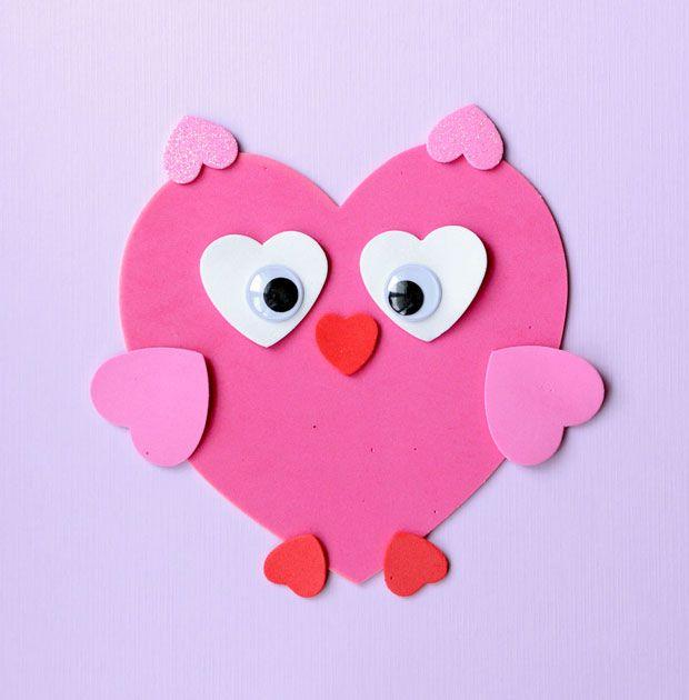 Craft dulce de San Valentín: Hacer Animales de formas de corazón | CBC padres