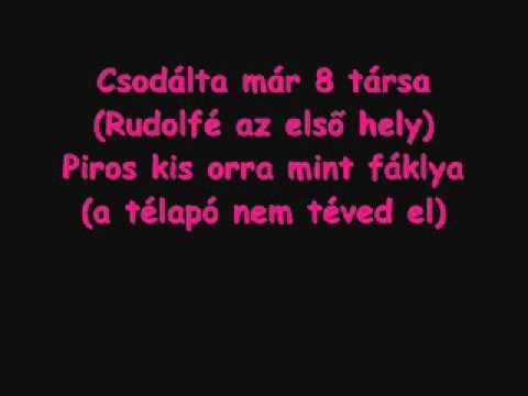 Rudolf a piros orrú rénszarvas.wmv - YouTube