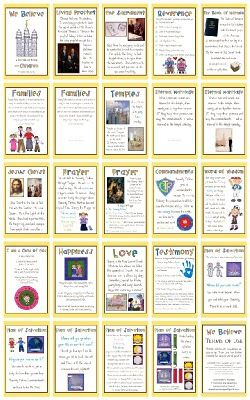 Here are 5 great Quiet Book printables perfect for Sacrament meeting.