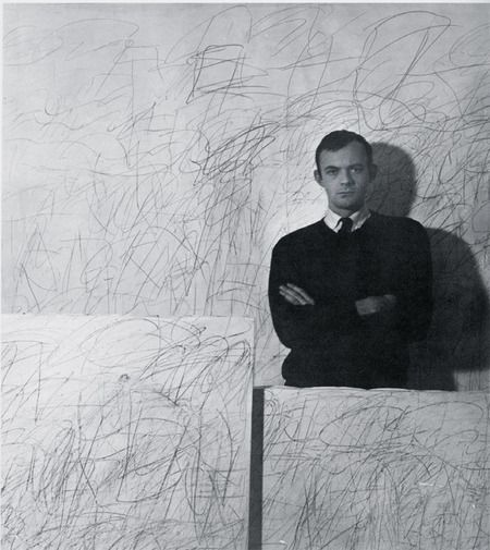 The Creators. Cy Twombly (1928-2011) . American painter, sculptor and photographer.
