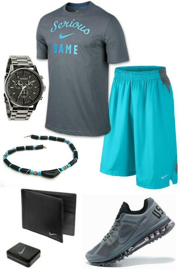 Men's fashion Nike outfit