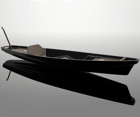 Good wood - 'Kayak 1' a carbon fibre and wood kayak by McLellan Jacobs
