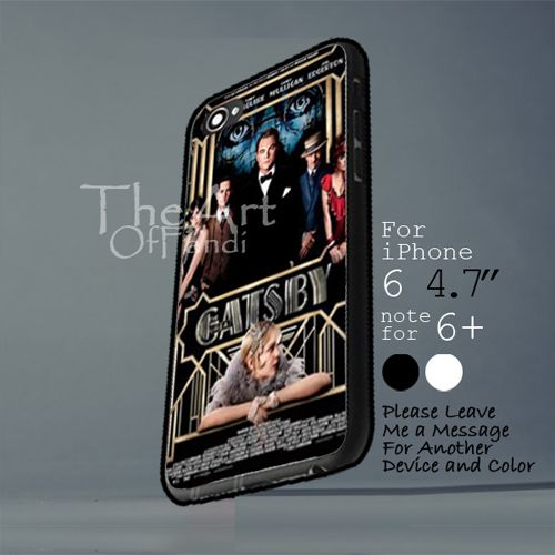the great gatsby leonardo dicaprio Iphone 6 note for  6 Plus