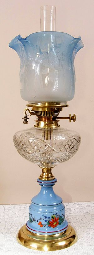 Previously Sold Oil Lamp from The Oil Lamp Store.