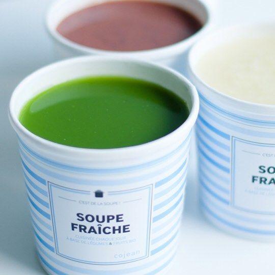LES #SOUPES D'#AUTOMNE  toutes nos #soupes #fraîches sont désormais #cuisinées à partir de #légumes et #fruits #bio.  #fresh #soup #autumn #organic #cojean #paris #restaurants