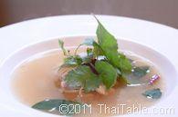tom yum gai with lemongrass