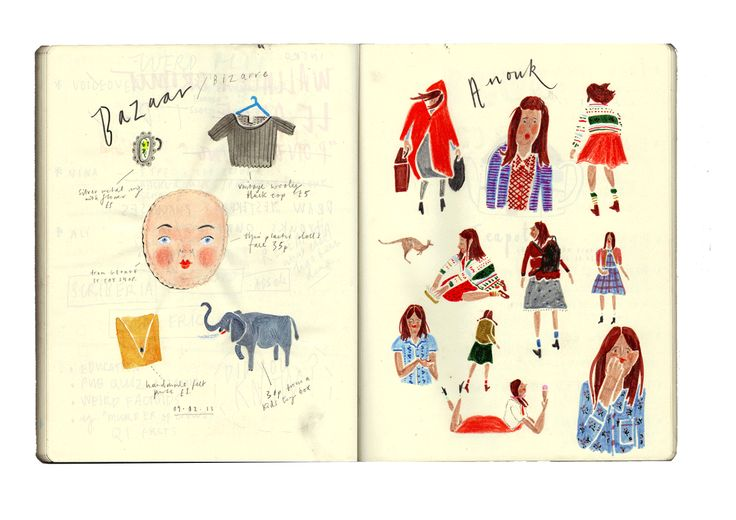 Nina Cosford Sketchbook