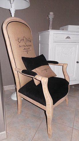 fauteuil voltaire avec boiserie clair - Recherche Google