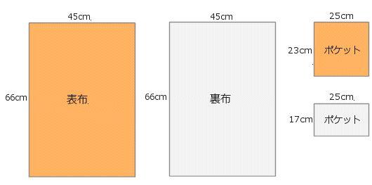 レッスンバッグの作り方 布切替なし - NUNOTOIRO