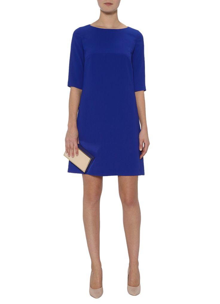 LaDress Lea A-lijn jurk met halflange mouw • de Bijenkorf