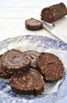 Rotolo di cioccolato senza cottura