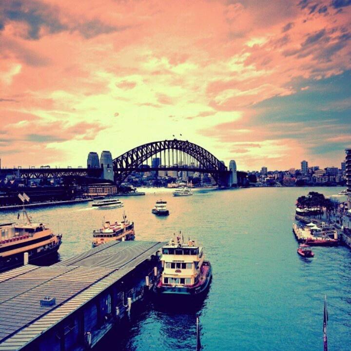 Sydney, Australia. Down under; daringly chic.