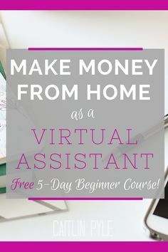 Start your own virtual assistant business. Find out how easy it is with Gina Horkey's 5-day beginner course. #affiliate