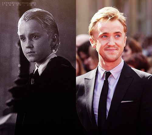 I'm just a little in love with Tom Felton. He can come marry me any day now.
