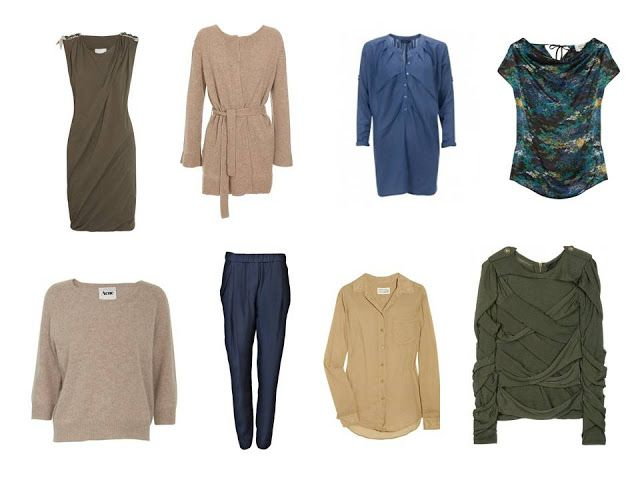 The Vivienne Files: Wardrobe: carefully curated and deliberately distilled for warm coloring. Extra 8 to complete!