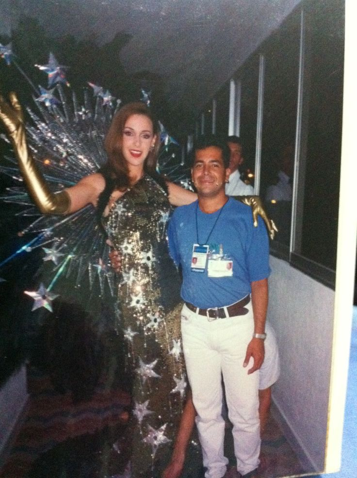 Miss Colombia Claudia Elena Vasquez