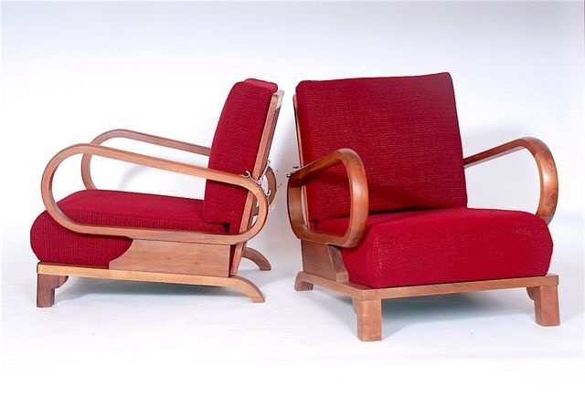 Armchairs By Jindrich Halabala 1970s Set Of 2 In 2020 Armchair